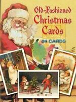 Old-Fashioned Christmas Cards: 24 Cards (Paperback or Softback)