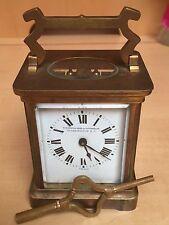 Antique French Bronze Traveler Clock