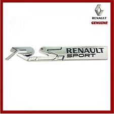Genuine Renault Clio. Megane & Twingo RS Sport Badge. New!