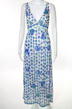 Emilio Pucci Multi-Color Sleeveless Knit Dress Size Small Vintage