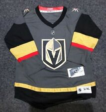 Vegas Golden Knights Youth Large / XL Replica Blank Jersey  Home Grey
