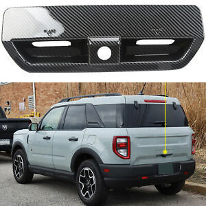 Exterior Rear Tailgate Door Handle Cover For Ford Bronco Sport CX430 2021-2022