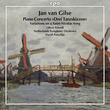 Jan Van Gilse: Piano Concerto & Variations On A - Jan Van / Tri (2016, CD NIEUW)