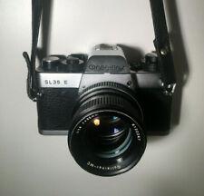 ROLLEI Rolleiflex SL35E Camera + Zoom-Rolleinar Lens + Leather Case + Manual