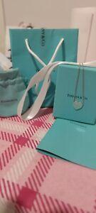 Collana Originale Cuore Incastonato Donna Tiffany & Co.