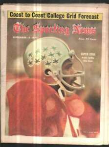 The Sporting News Newspaper Sep 13, 1975 Super Star Archie Griffin