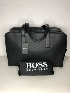 Hugo Boss Business  Reisetasche,Weekender, Neu mit Verpackung Schwarz UVP:750€