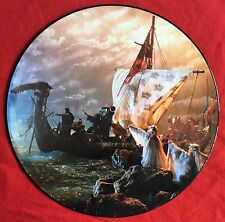 """THE KLF -Justified & Ancient/America What Time Is Love- UK 12"""" Picture Disc"""