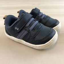 Surprize by Stride RiteBaby Toddler Boys Alec Sneakers Navy White Size 4 M New