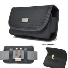 Nylon Belt Pouch Carrying Case Clip Holster for Doro 7050,Doro 7050L Flip Phone