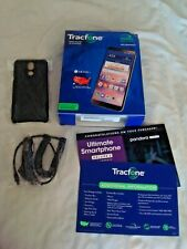 LG Solo LTE (Tracfone) 16GB Prepaid Smartphone Sealed NEW W/Case & Car Charger