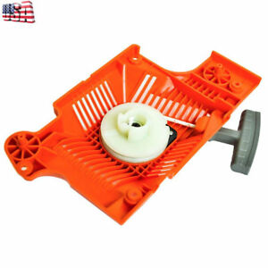 FOR HUSQVARNA  55 51 50 CHAINSAW RECOIL REWIND STARTER ASSEMBLY US SELLER