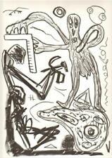 Penck  A.R. Original-Lithografie Original-Lithograph 1988 Text Heiner Müller 22