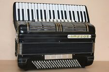 Hohner Morino IV N 120 Bass Double Cassotto Accordion Fisarmonica + Gigbag