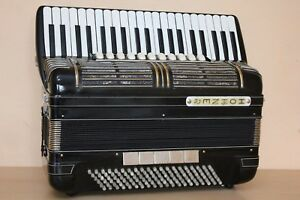 Hohner Morino IV N 120 Bass Double Cassotto Accordion Fisarmonica + Gigbag