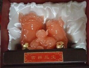 Pink Jade Pig