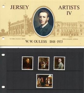 1983 Jersey Sg 320/323 Walter Ouless Presentation Pack