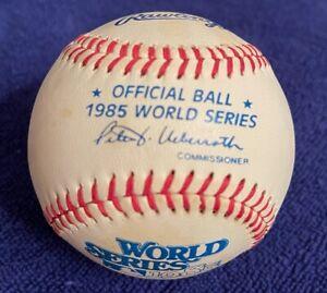 "Official 1985 World Series Baseball Royals Cardinals ""I-70 Showdown Series"""