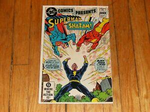 DC COMICS PRESENTS #49 (1982, DC) KEY 2ND MODERN BLACK ADAM APPEARANCE, HOT!!
