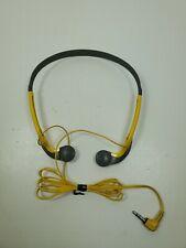 Sony MDR-W20G Walkman Sport Headphones Vintage Yellow SONY MDR-W14
