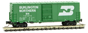 Micro-Trains MTL Z-Scale 40ft Standard Box Car Burlington Northern/BN #161816