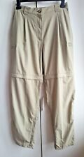 EXOFFICIO Convertible Hiking Trousers Shorts Womens W29 L30 walking travel