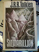 The Silmarillion J.R.R. Tolkien 1st American Edition/1st Printing with Map -1977