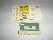 GEORGES BRASSENS K7 AUDIO FRANCE SUPPLIQUE...RARE