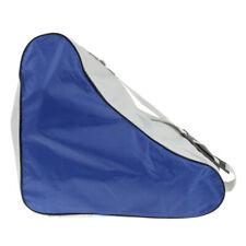 Roller Skates Carry Bag Pack for Outdoor Inline Skate Speed Quad Skates Blue