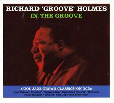 RICHARD 'GROOVE' HOLMES -  IN THE GROOVE (NEW SEALED 3CD)