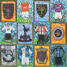 Merlin 98 (1998) Football Kit / Badge Sticker Fridge Magnet - Various Teams