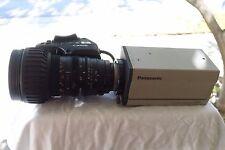 Panasonic AW-E600 Video Camera w/ Canon YH18x6.7 1x12 Zoom Lens - USED