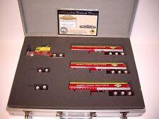 AUSSIE ROAD RIGS LINFOX 1/64 ROAD TRAIN FREIGHTLINER CENTURY DCP TIE