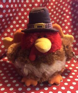 Gund Turkey plush. Gobbler. #88519. Thanksgiving stuffed animal
