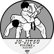 JU-JITSU ADVANCED LEVEL LESSON DVD 3 - DETAILED BLACK BELT GRADE TUTORIAL NEW