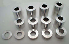 "Custom Chopper Wheel Axle Spacer Kit 3/4"" for  Raw Small Set . 1.130"" O.D."