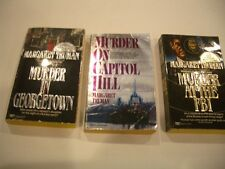 MURDER ON CAPITOL HILL  + two 2 more Margaret Truman novels   [3 books total]