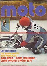 LA MOTO 60 ROYAL MOTO 125 HONDA XL 250 Jack Findlay Olivier Chevallier 1975 (2)