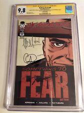 CGC SS 9.8 Walking Dead #99 Variant signed by Morgan, Kirkman Adlard & Rathburn