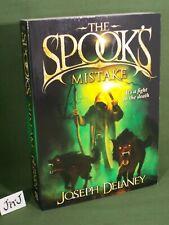 JOSEPH DELANEY THE SPOOK'S MISTAKE PAPERBACK 2009