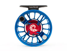NAUTILUS X-FRAME X-SERIES XM #4-5 WEIGHT FLY REEL CUSTOM BLUE FREE U.S. SHIPPING