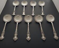 Wallace Meadow Rose pattern Sterling Silver Spoons