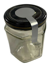 Jar Seal Stickers - 5 sizes + 5 Colours Lollipop Shaped Tamper Proof / Evident