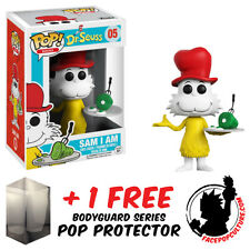 FUNKO POP DR SEUSS SAM I AM VINYL FIGURE + FREE POP PROTECTOR