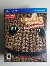 Little Big Planet 3 Limited Plush Edition SACKBOY PlayStation 4 PS4 *NEW*