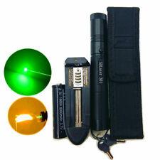 50 Miles 5MW 532NM Laser Pointer Lazer Pen Beam Burn Zoom 18650 Battery Charger