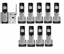 AT&T TL92273 DECT 6.0 Connect to Cell BLUETOOTH 10 Handset Cordless Phone System