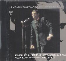 Jacques Brel - Brel En Public Olympia 1961 Vol 8 CD