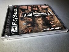 Front Mission 3 (Sony PlayStation 1, 2000) New Sealed
