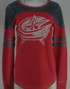 Columbus Blue Jackets NHL Touch Women's Red Thermal Long Sleeve
